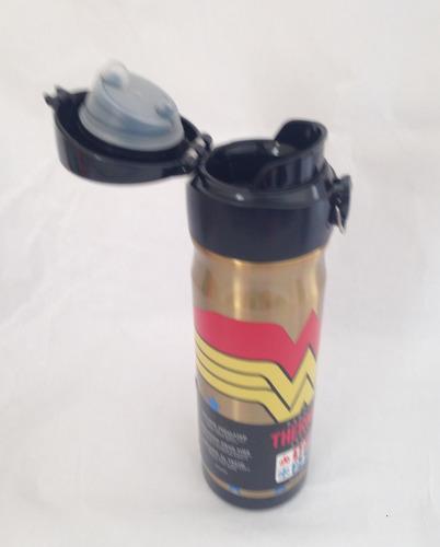 kit 2 garrafa termica thermos adulto 470ml - 24h frio -