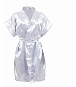 3e8f2ce6fa914b Kit 5 Hobby Cetim Robe Casamento Roupão Noiva Festa