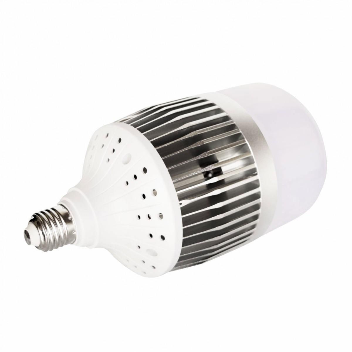 kit 2 lampada led bulbo e27 6000k bivolt 150w branco frio - r$ 579