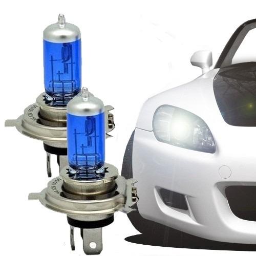 kit 2 lampadas super branca efeito xenon melhor que led