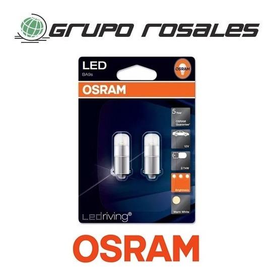 Osram Ba9s Lámpara 2 4000k 3850ww Led Kit T4w eroxdCB