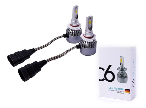 kit 2 lamparas cree led citroen c3 aircross linea nueva