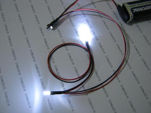 kit 2 led lâmpada luz miniatura pequena fácil ligar casinha