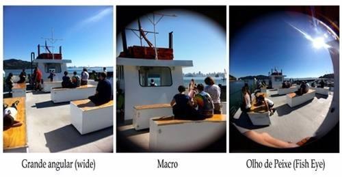 kit 2 lente angular para smarthphone lente macro