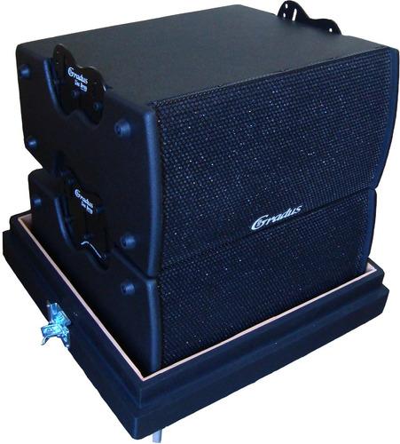 kit 2 line gradus 1002lpb -800w  fte 12+ ti +1 bumper + case