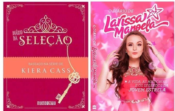 415435443a154 Kit 2 Livros Diário Seleção + Diário Larissa Manoela - R  39