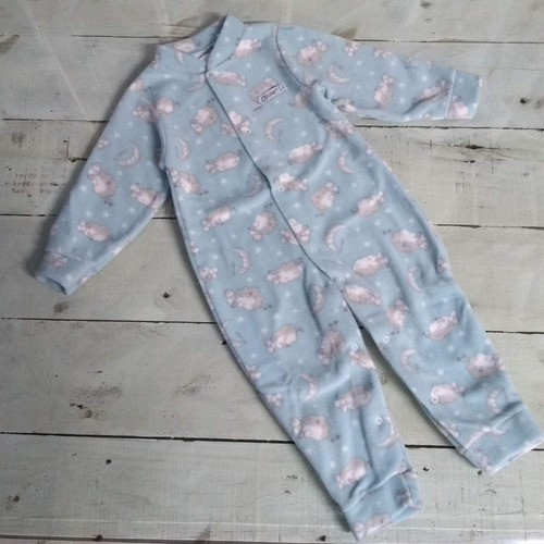 kit 2 macacão infantil soft menino 1 a 8 anos pijama roupa