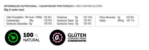 kit 2 macarrão low carb proteína grão bico beterraba 200g