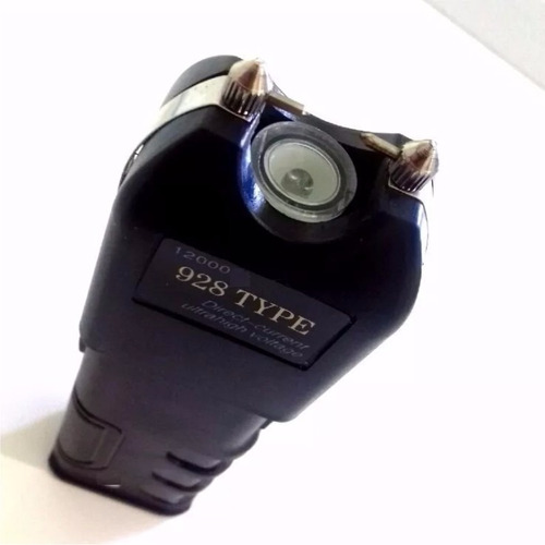 kit 2 máquina aparelho choque defesa pessoal taser lanterna