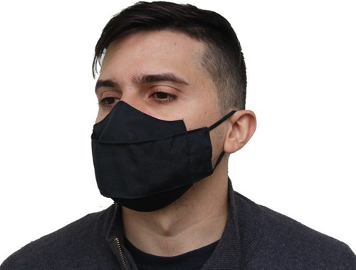 kit 2 máscara não descartável 3d para quem usa óculos