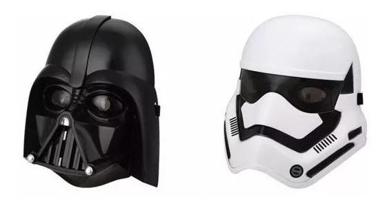 Kit 2 Mascaras Star Wars Darth Vader E Soldado Stormtrooper R