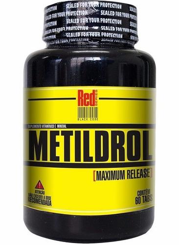 kit 2 metildrol (60 tabs) aumento da testosterona e libido
