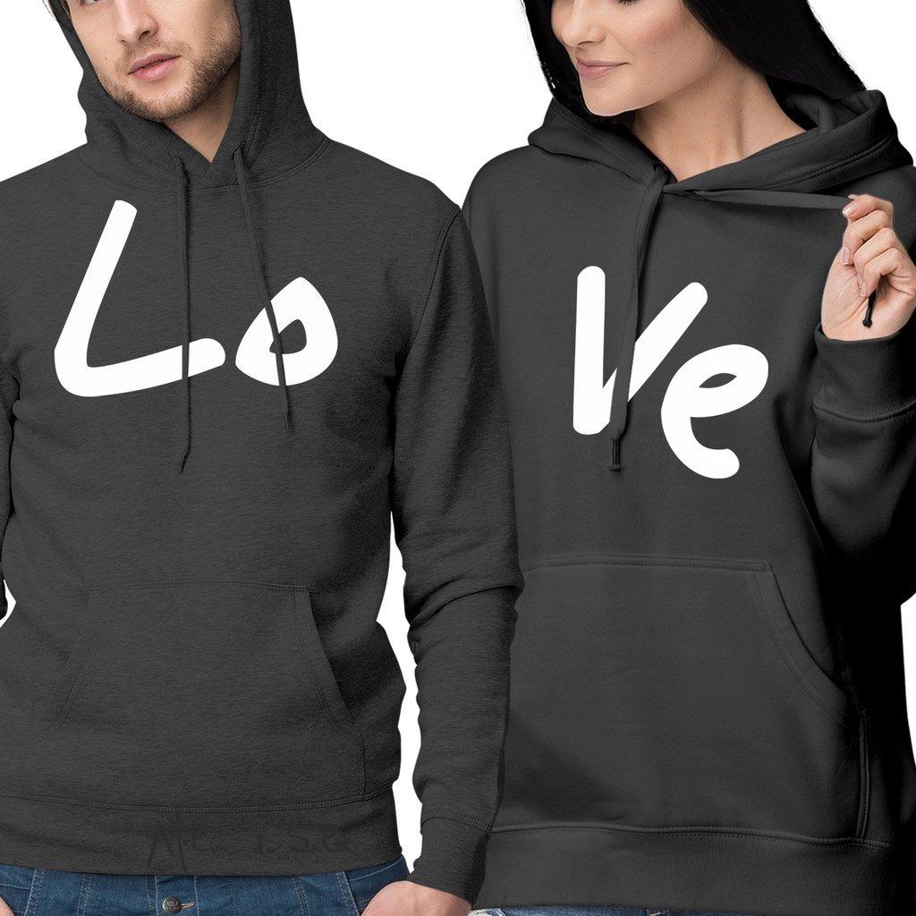 b87433122a Kit 2 Moletons Moleton Casal Namorados Amor Love Lo Ve - R  119