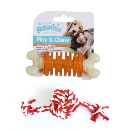 kit 2 mordedores para cachorro pequeno pawise