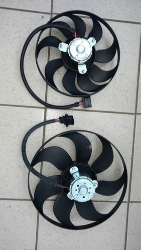 kit 2 moto ventilador vw jetta golf a4 principal y auxiliar