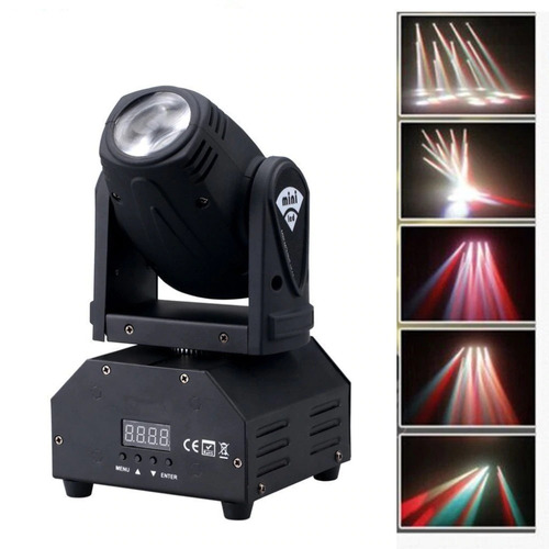 kit 2 moving heas beam b10  leds rgbw alto brilho p/ entrega