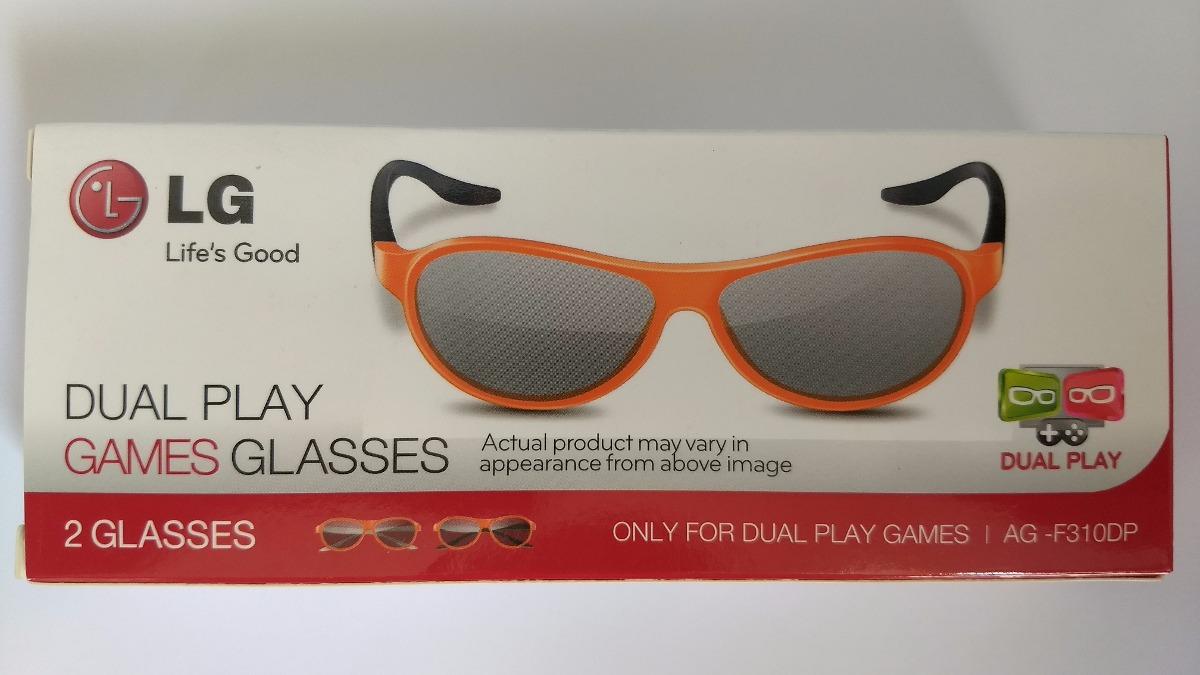 5a210c703 Kit 2 Óculos 3d Lg Tv Dual Play Games - R$ 87,00 em Mercado Livre