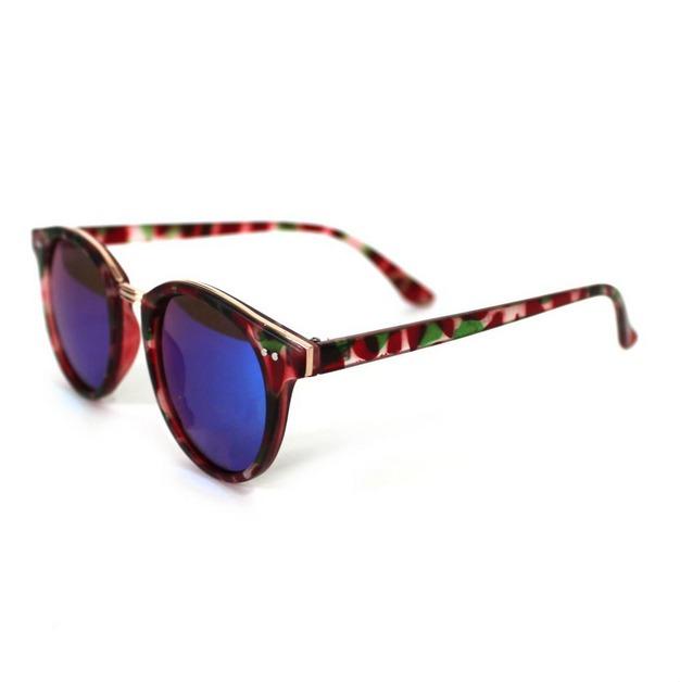 7312ef23864b5 kit 2 óculos de sol espelhados coloridos rosa azul preto. 3 Fotos