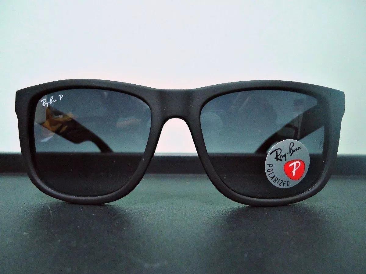 fe3c17beee571 Kit 2 Oculos De Sol Justin Rayban Polarizado Preto - R  120