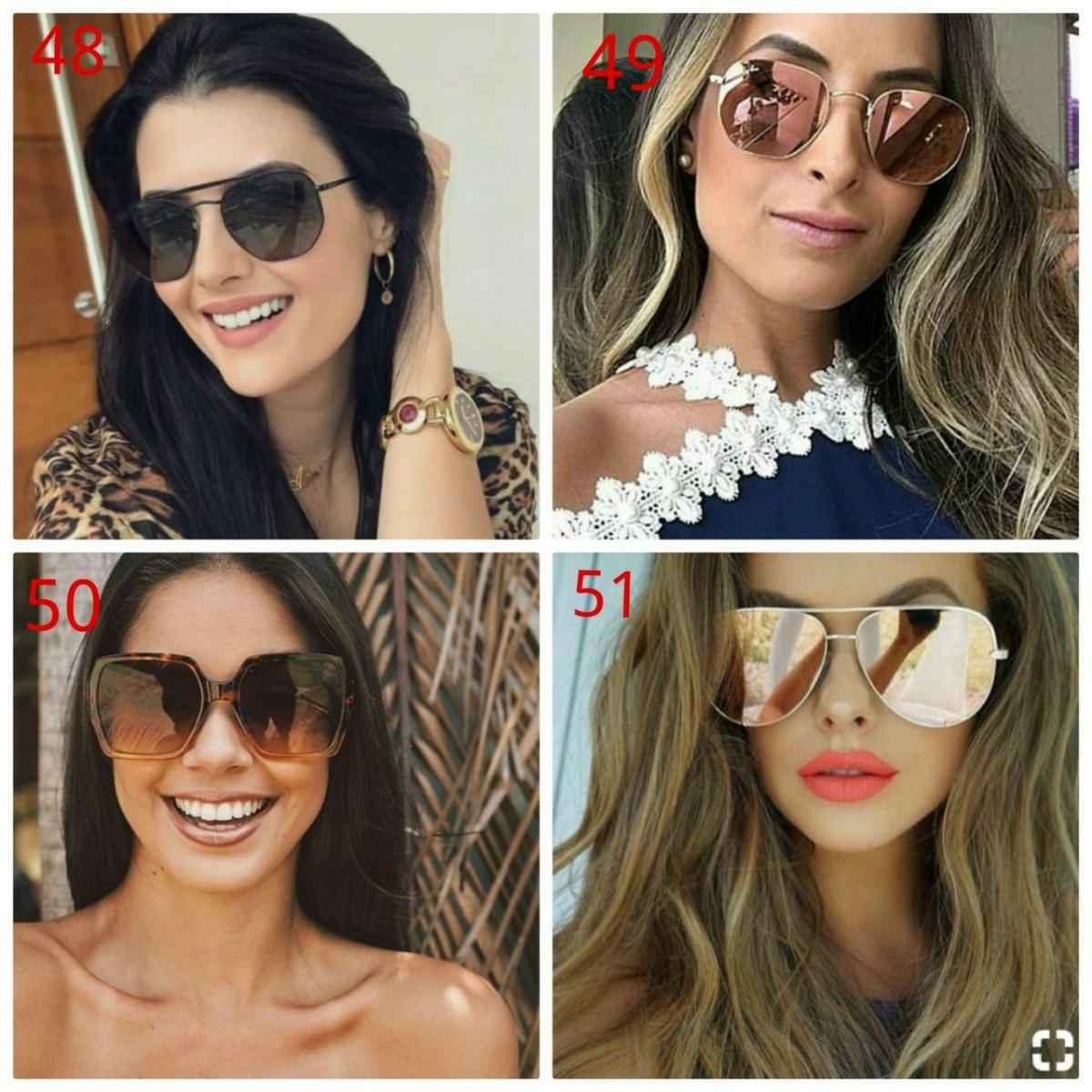 kit 2 óculos quadrado de sol oncinha importado luxuoso lindo. Carregando  zoom. e82e0e7996