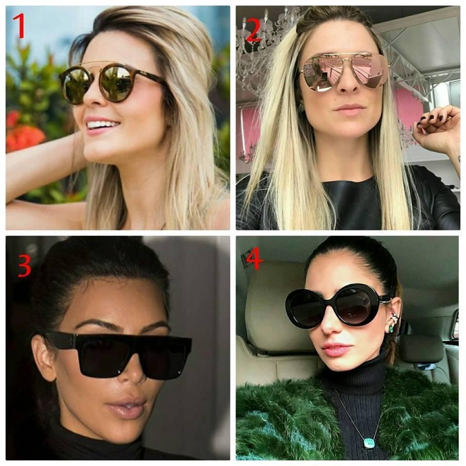 kit 2 óculos redondo quadrado oncinha feminino retro lindo. Carregando zoom. 409037c0a2