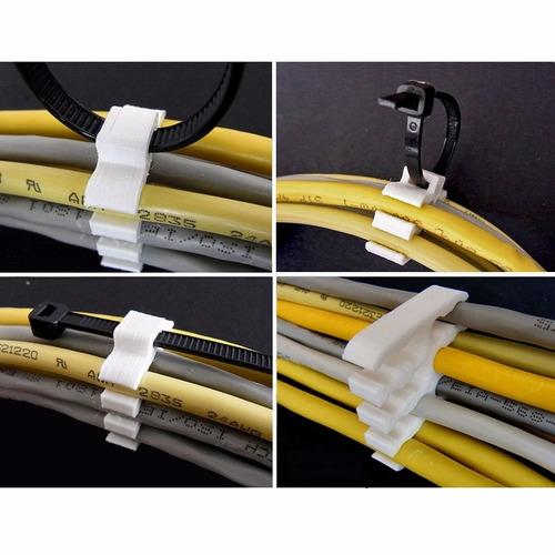 kit 2 organizador cabos de rede tipo pente até 12 cabos cat6