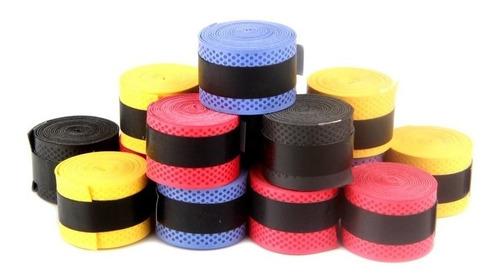 kit 2 overgrip fita para raquete - tênis, squash, badminton