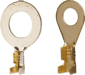 kit 2 pacotes c/ 50 terminal anel olhal cobre 8,2mm