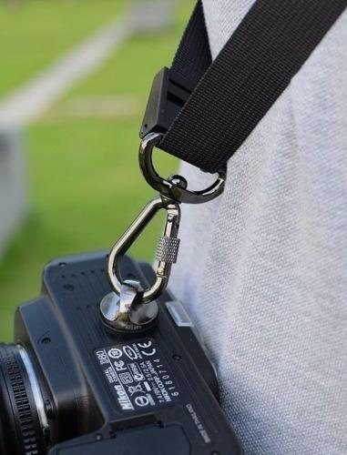 kit 2 parafuso 1/4  alça camera dsrl fotograficas filmadora