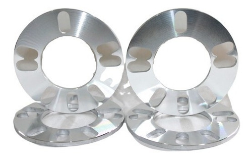 kit 2 pares alargador espaçador roda4 e 5 furos (10mm)