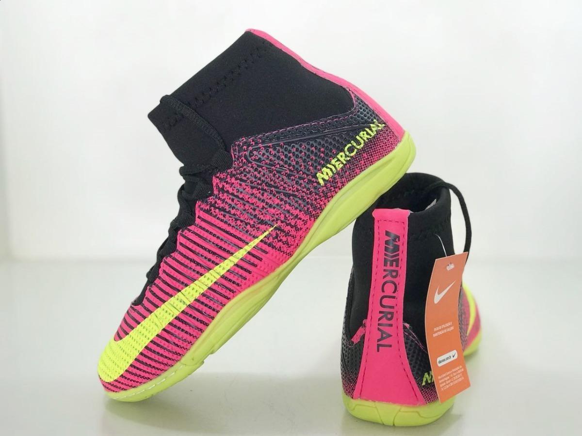 kit 2 pares de chuteiras botinha futsal futebol neymar salão. Carregando  zoom. 49e9ddc272e0f
