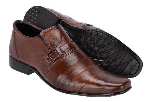 kit 2 pares de sapato social masculino couro legitimo barato