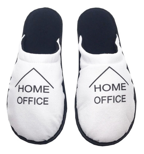 kit 2 pares pantufa 1027 home office sua logo personalizada