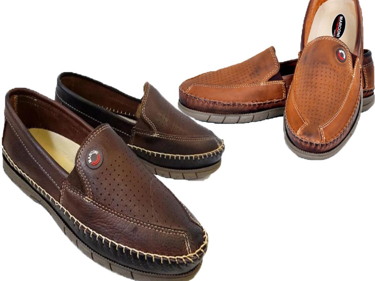 7d3db436c kit 2 pares sapatilha mocassim masculino couro sem juros. Carregando zoom.