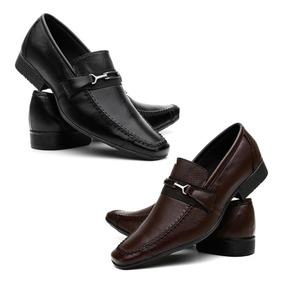 f7c8038e3 Kit Sapato Social Masculino Sapatos Sociais - Sapatos para Masculino com o  Melhores Preços no Mercado Livre Brasil