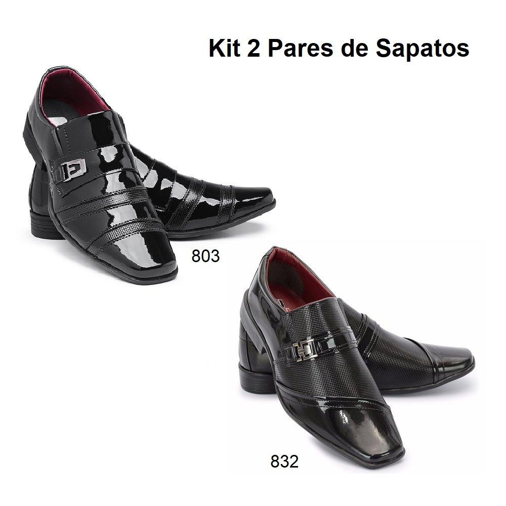 5f69345ed8 ... sapato social masculino couro sintético 834. Carregando zoom.