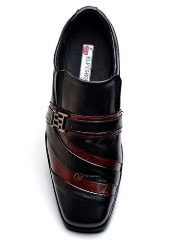 kit 2 pares sapato social masculino tamanho grandes 46 47 48