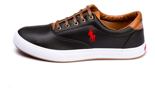 kit 2 pares tenis masculino polo way original atacado