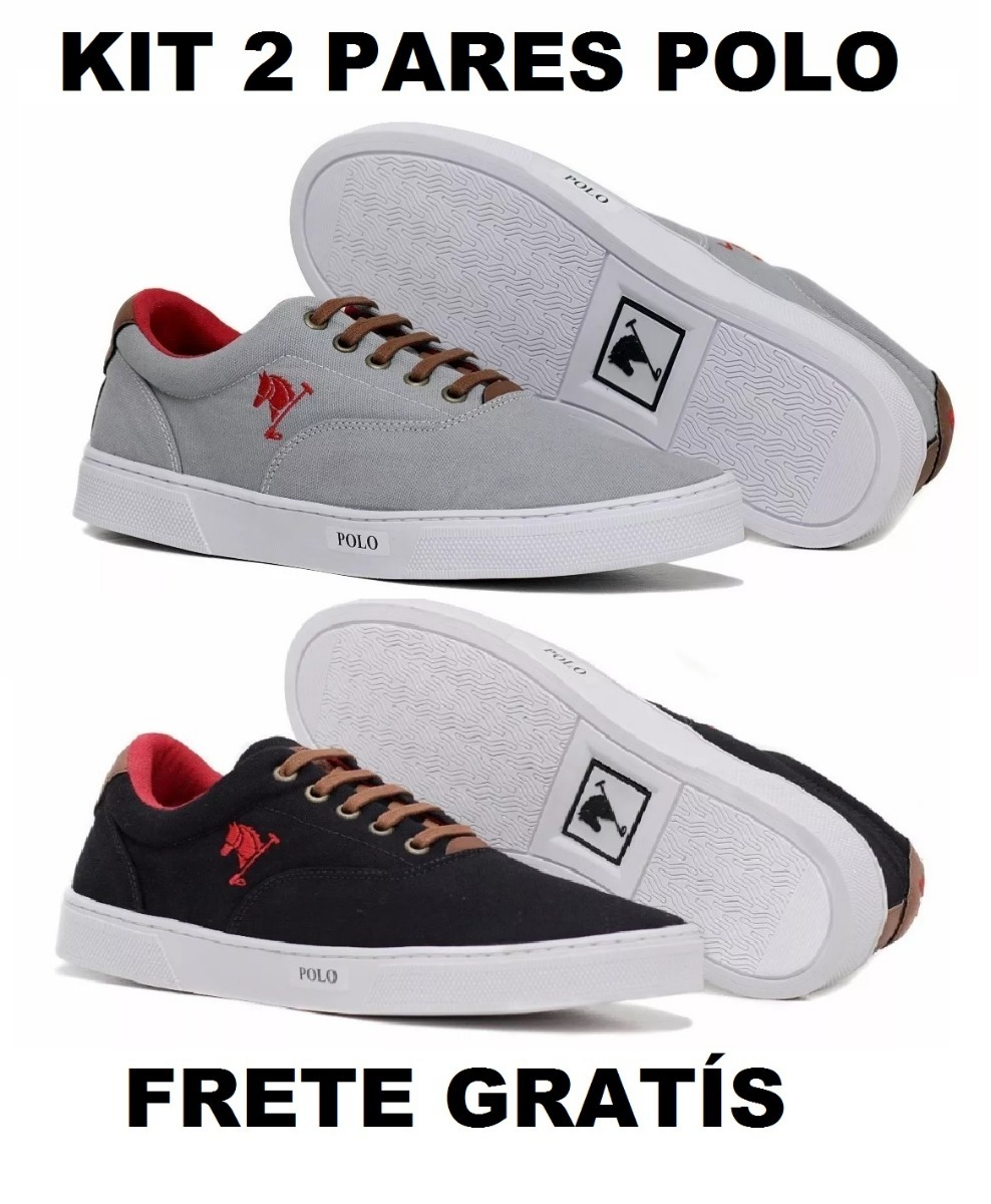 42bb0928665 ... tenis masculino sapatenis polo joy 100% original. Carregando zoom.