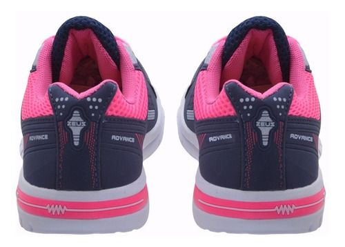 kit 2 pares tênis feminino caminha academia frete novo zax