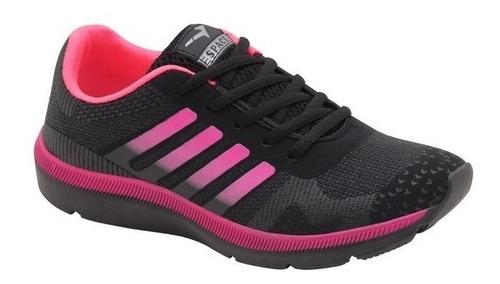 kit 2 pares tênis feminino esportivo academia caminhada 1011
