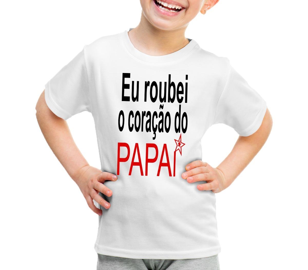 Kit 2 Pç Camisa Personalizada Frases Pai E Filha Amor Oferta R 51