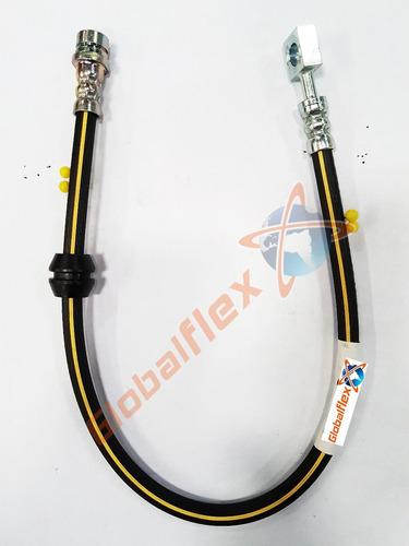 kit 2 pçs flexivel freio dianteiro vw saveiro cross ano:2011