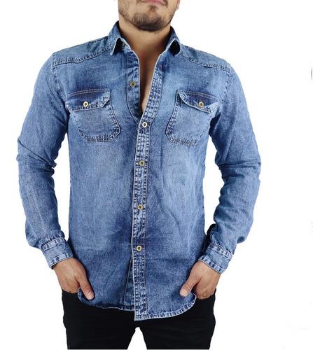 kit 2 peças camisa blusa jeans masculina leve inverno oferta