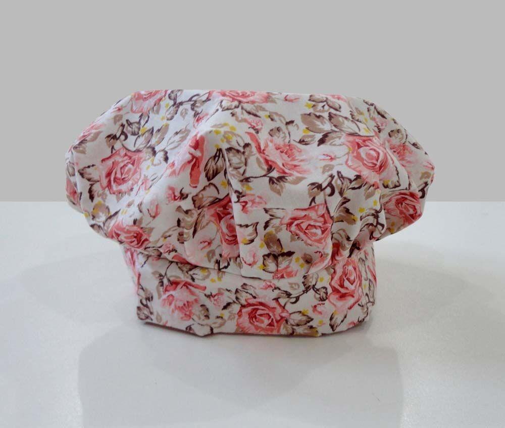 b3ed1418e66d8 kit 2 peças mestre cuca - avental + chapéu - floral barato. Carregando zoom.