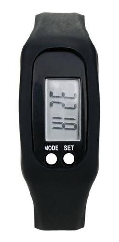 kit 2 pedômetro digital aparelho musculação contador passos km caloria relógio corrida caminhada liquidação menor preço