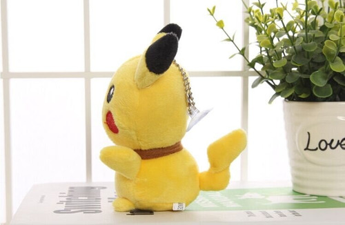 kit 2 - pelúcias pikachu pokemon 13cm