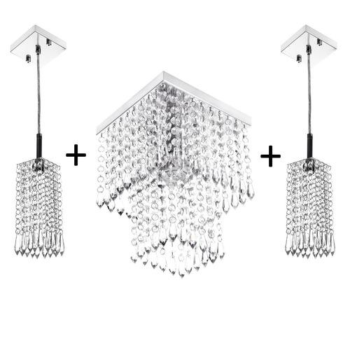 kit 2 pendentes clearcrillic + marrycrilic oferta!!