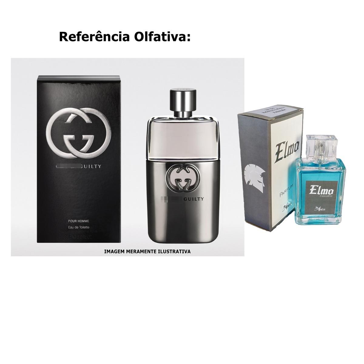 kit 2 perfumes contratipo 100ml gucci guilty masculino. Carregando zoom. 41fa415839