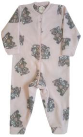 bb28b25c9a9dc2 Kit 2 Pijamas Macacão Infantil Soft Quentinho Frio Barato